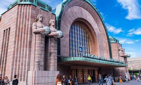 ЖД Вокзал ЖД вокзал Хельсинки